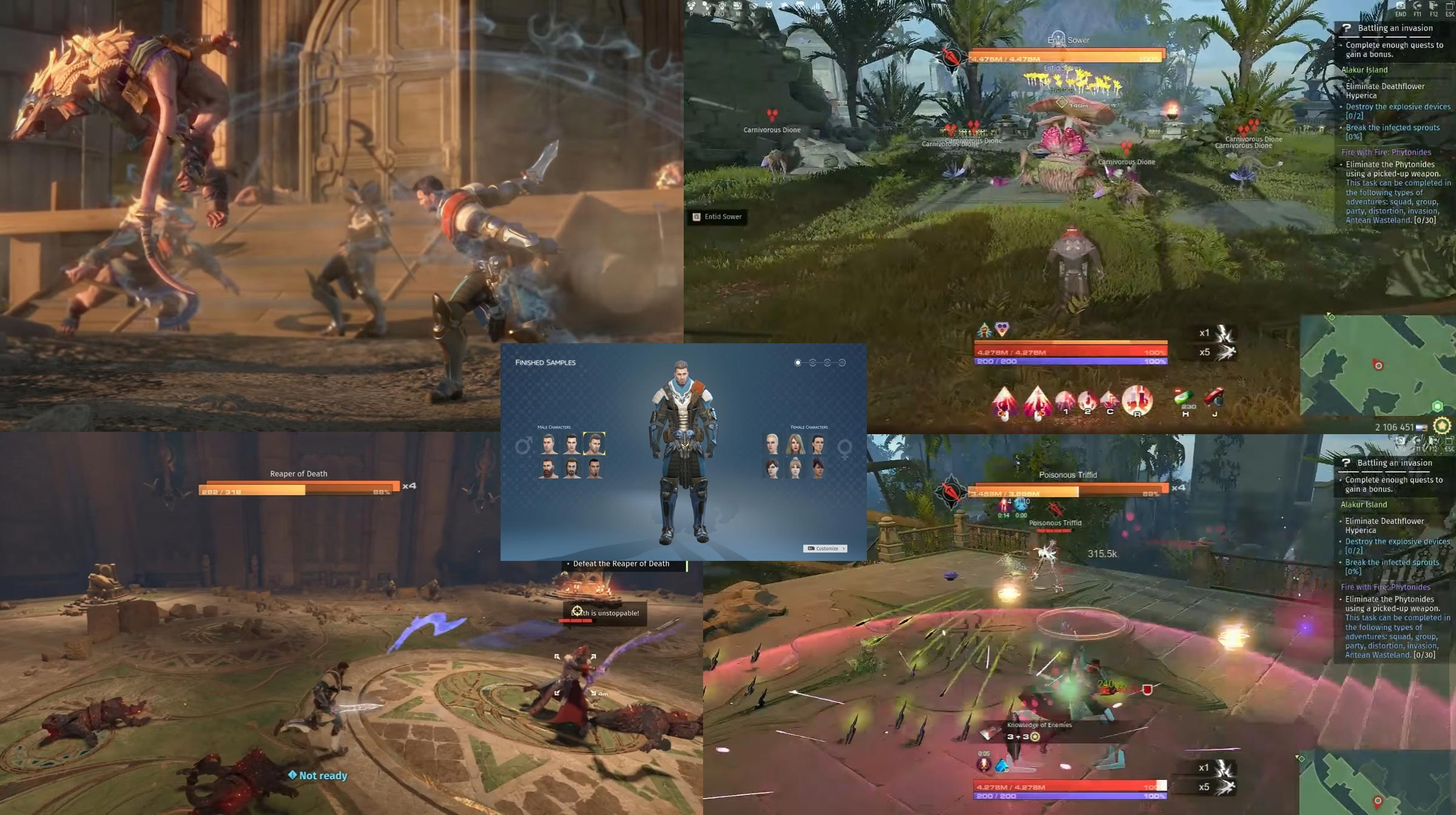 skyforge battle screenshot