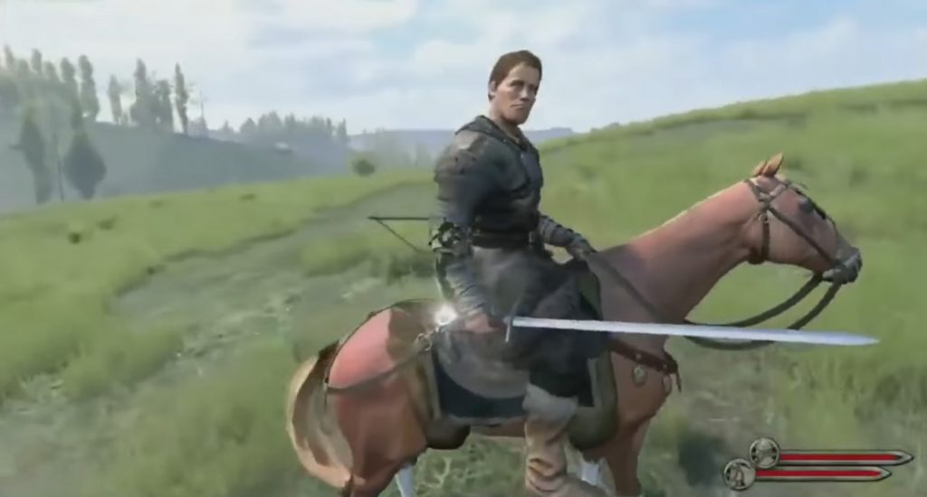 Mount and blade horse