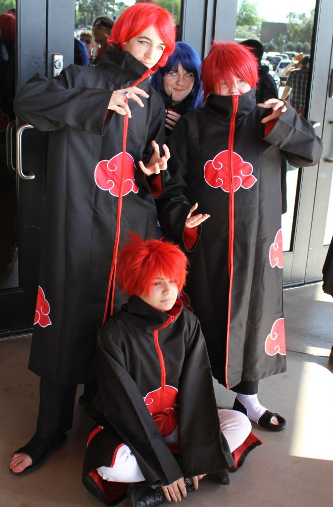 Sasori cosplay lvl up