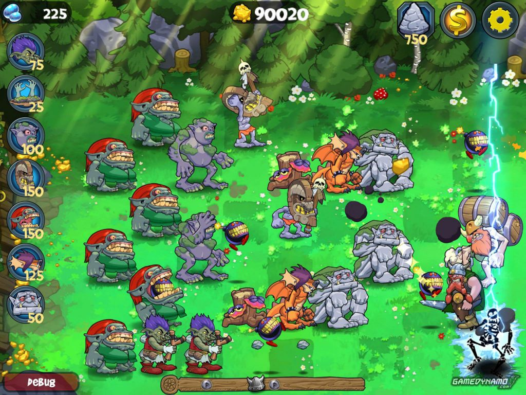 Versus Games that are Plants Versus Zombies Clones and